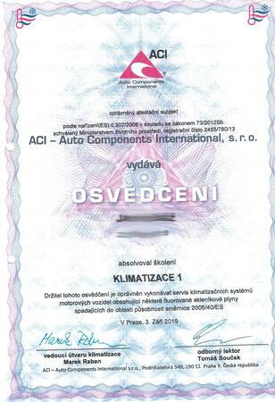 stavebný certifikát a osvedčenie
