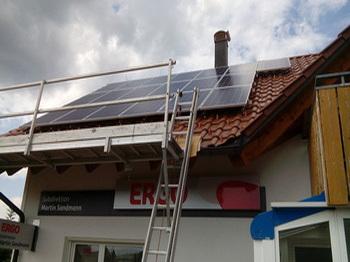 Photovoltaik famielien haus