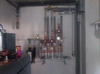 Installation der Wärmepumpe